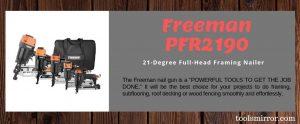 Freeman PFR2190