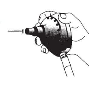 operation procedure of mini palm nailer