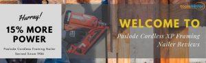 Paslode 905600 Cordless XP Framing Nailer