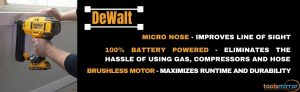 Dewalt DCN680D1 cordless brad nailer review