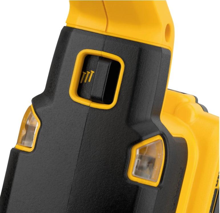 Dewalt tool-free selectable trigger