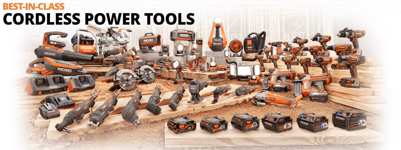 Ridgid Nail Gun - Cordless Tools