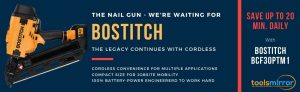 Bostitch BCF30PTM1 Cordless Framing Nailer