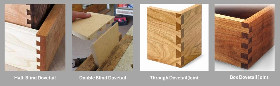 Different Types of Dovetail