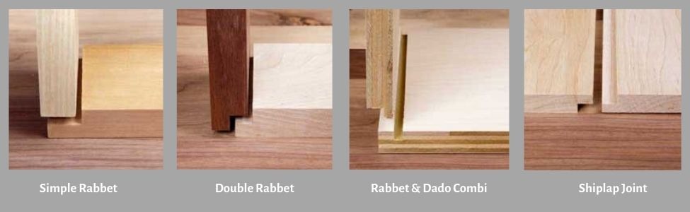 Different Types of Rabbet