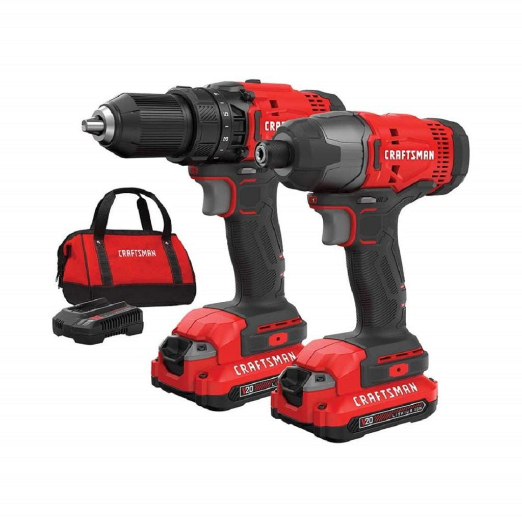 craftsman 20 volt cordless drill