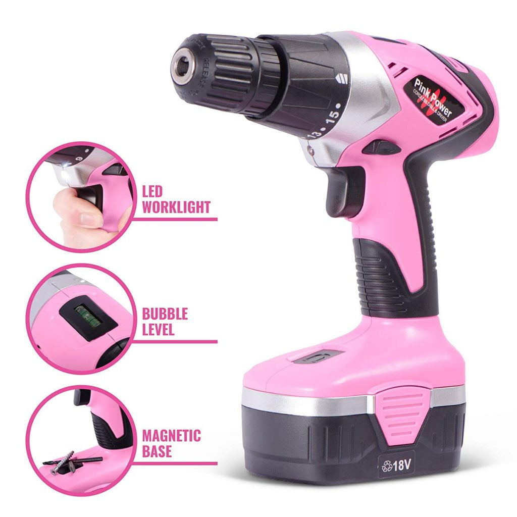 pink power drill pp182
