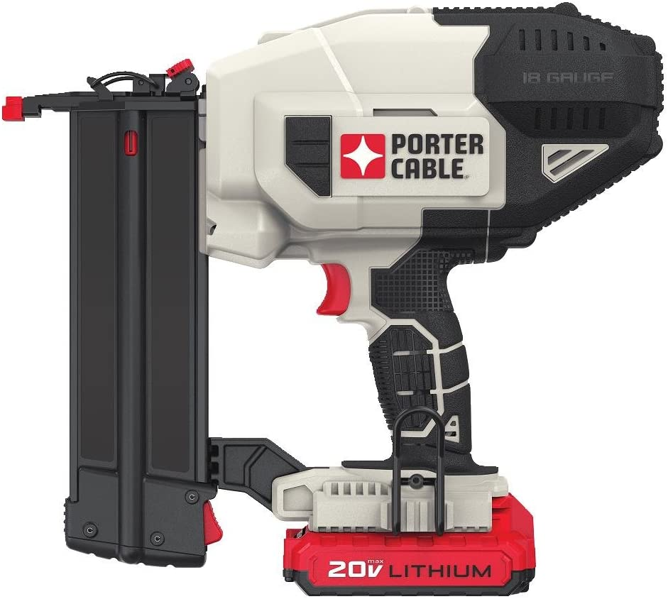 porter-cable pcc790la cordless nailer kit