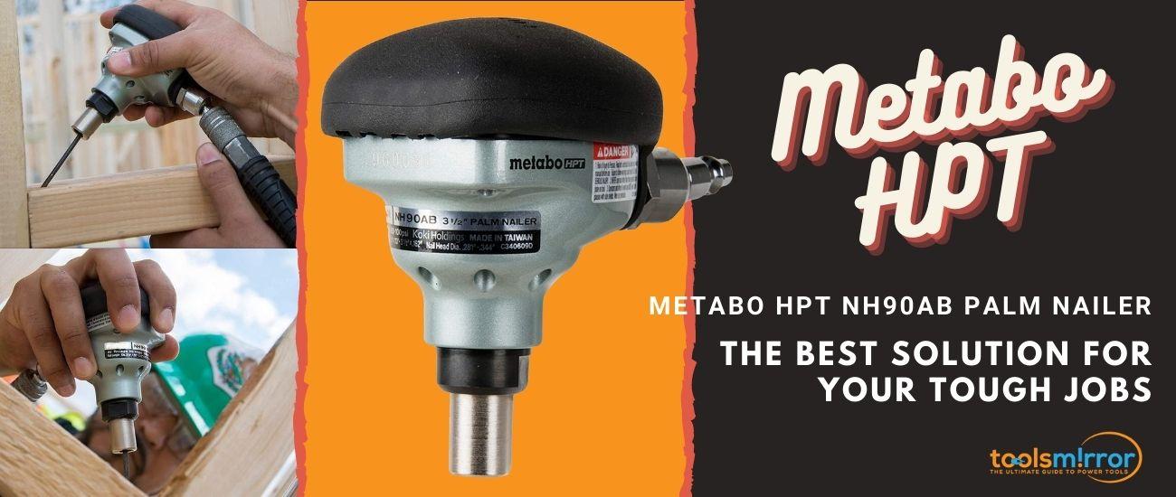 Metabo HPT NH90AB palm nailer