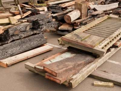 Source of scrap wood
